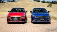 2020 Hyundai i30 N Line Premium v Peugeot 308 GT