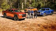 Ute review: 2021 Isuzu D-Max X-Terrain v Toyota HiLux SR5 v Ford Ranger Wildtrakcomparison