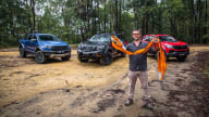 Off-road comparison: 2020 Nissan Navara N-Trek Warrior v Ford Ranger Raptor v HSV Colorado SportsCat