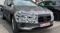 2021 Mercedes-Benz EQA leaked with minimal camouflage