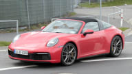2020 Porsche 911 Targa spied