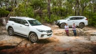 Video review: 2020 Toyota Fortuner v Mitsubishi Pajero Sport - off-road comparison