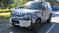 2020 Land Rover Defender spied again