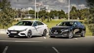 2021 Hyundai i30 Sedan N Line Premium v 2021 Mazda 3 G25 GT Sedan comparison