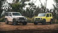 Naughty Shorties: Jeep Wrangler versus Suzuki Jimny off-road comparison