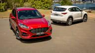 Family SUV review: 2021 Ford Escape v Mazda CX-5 comparison