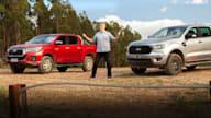Revideo: 2020 Ford Ranger vs Toyota HiLux comparison review