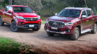 2019 LDV T60 Luxe v SsangYong Musso XLV Ultimate comparison