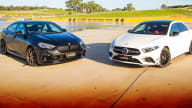 2020 BMW M235i Gran Coupe v Mercedes-AMG A35 sedan comparison review