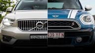 Spec shootout: Volvo XC40 Inscription v Mini Countryman Cooper S comparison