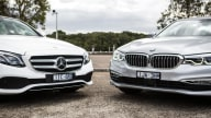 BMW and Mercedes-Benz combine mobility services units