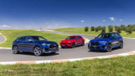 视频:奥迪RSQ8 v宝马X5 M v保时捷Macan GTS -驾驶汽车2021年最佳性能SUV