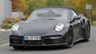 2020 Porsche 911 Turbo Cabriolet spied