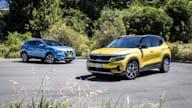 2019 Kia Seltos GT-Line v Nissan Qashqai Ti comparison