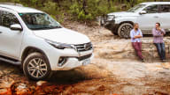 2020 Mitsubishi Pajero Sport v Toyota Fortuner comparison: Off-road