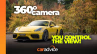 Video: 360-degree drive: 2021 Porsche 718 Cayman GT4 manual