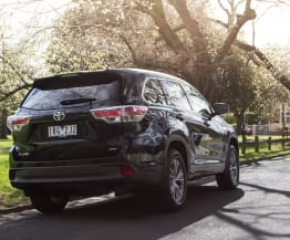 2014 Toyota Kluger GXL Speed Date