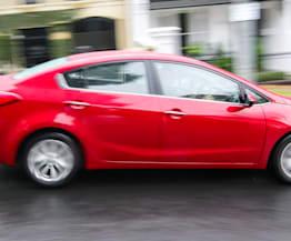 2014 Kia Cerato Si sedan Speed Date