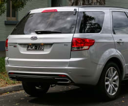 2015 Ford Territory TS AWD Speed Date