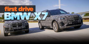 2018 BMW X7 review: Prototype drive