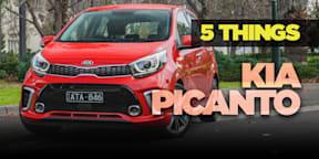 2018 Kia Picanto review: 5 Things