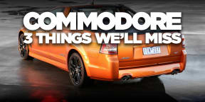 The Holden Commodore and three things we