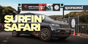 Easter Surfing Safari with Jeep: Video