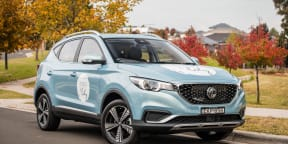 Video: MG ZS EV: 'A Day in the Life' with florist Lavender and Lily