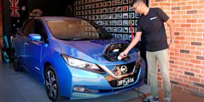Video: 2021 Nissan Leaf e+ review