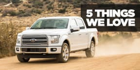 5 things we love about the 2017 Ford F-150