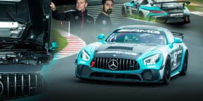 Mercedes-AMG GT4 race car review