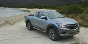 Tasmania Weekend Road Trip: Cockle Creek in the Mazda BT-50 —Australia