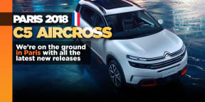 Citroen C5 AirCross shows in Paris, soon for Australia