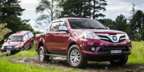 2017 Foton Tunland 4x4 review