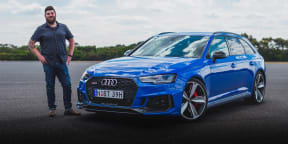 CarAdvice Winners Circle: Audi RS4 Avant