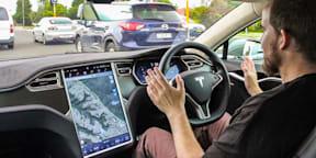 Tesla Model S AutoPilot Review