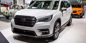 2018 Subaru Ascent revealed in LA