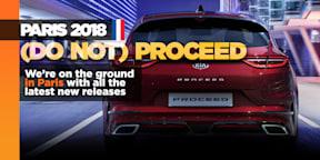 Kia ProCeed: Sleek new wagon revealed in Paris