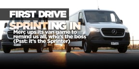 2019 Mercedes-Benz Sprinter review: First drive