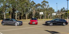 Mercedes-Benz premium small car comparison: A-Class v B-Class v CLA-Class