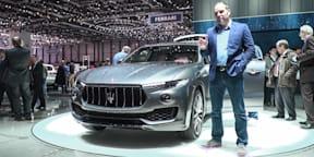 2017 Maserati Levante SUV : 2016 Geneva Motor Show