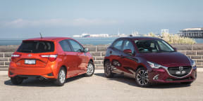 Toyota Yaris v Mazda2 comparison