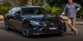 Video review: 2020 Lexus LS500h F Sport