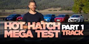 2018 Hot Hatch Mega Test, Part 1: Track