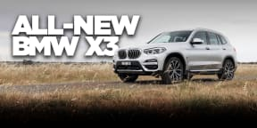 2018 BMW X3 xDrive30i review: video