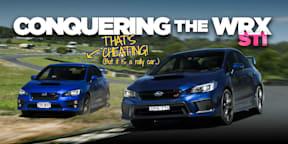 How to drive fast in a Subaru WRX STI