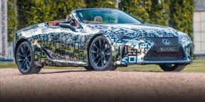 2020 Lexus LC Convertible Prototype: Walkaround tour