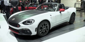 Abarth 124 Spider and 124 Rally : 2016 Geneva Motor Show