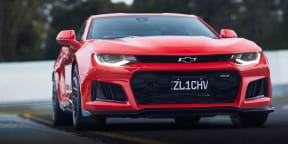2019 Chevrolet Camaro ZL1 review: Australian track test (Sandown)