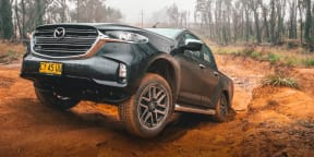 Video: 2021 Mazda BT-50 GT off-road review
